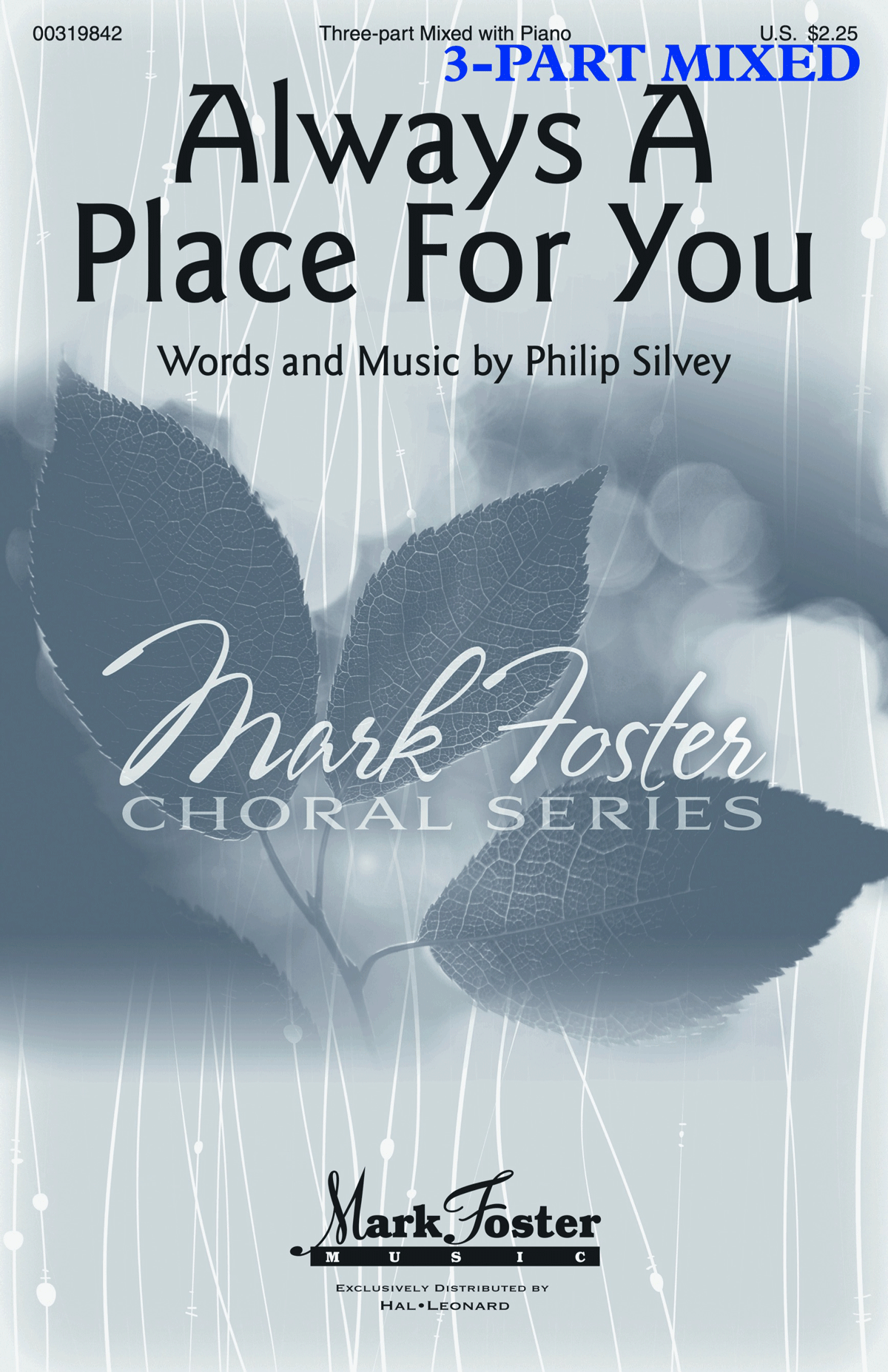 Always a Place for You - 3-Part Mixed - choral score cover